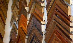 Wall of Custom Frame Samples