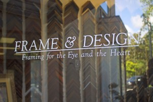 Frame and Design Shop Door