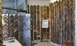 Our Shop is Filled with Frame Samples from Floor to Ceiling